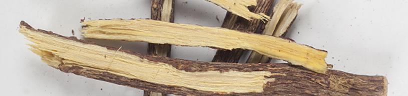 El regaliz es rico en ácido glicirrético, un ingrediente genial para luchar contra la inflamación y la infección en el acné