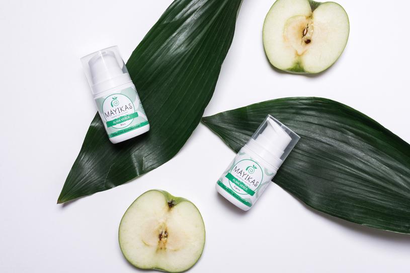 Ilustración de nuestros productos con esencia de manzana