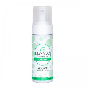 Envase mousse de limpieza facial natural y ecológica